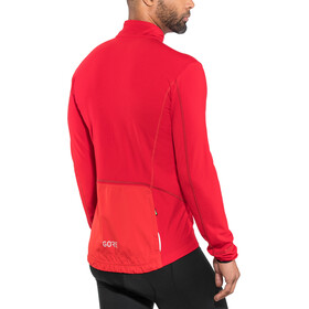 GORE WEAR C5 Thermo Trail Jersey Herr red/black